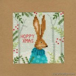 Xmas Hare Counted Cross Stitch Kit by Bothy Threads