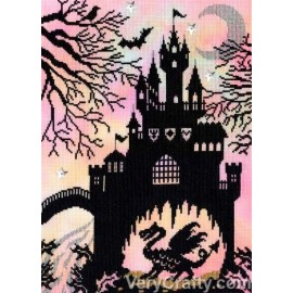 Dragon Castle - The Enchanted Range from Bothy Threads