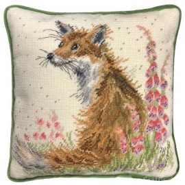 Amongst The Foxgloves Tapestry by Hannah Dale for Bothy Threads