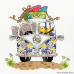 Pack Your Trunk Counted Cross Stitch Kit by Bothy Threads