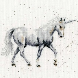 Believe In Magic Counted Cross Stitch Kit by Bothy Threads