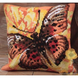 Colombine CD5034 Collection D/'Art Cross Stitch Cushion Kit