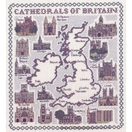 Cathederals of Britain Cross Stitch Kit from Classic Embroidery