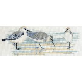Birds - Waders Cross Stitch Kit by Derwentwater Designs