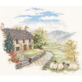 Countryside - High Hill Farm Cross Stitch Kit by Derwentwater Designs
