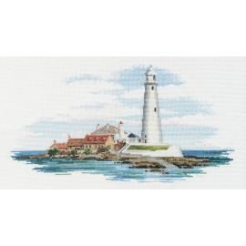 Coastal Britain - Morning Light Cross Stitch Kit by Derwentwater Designs