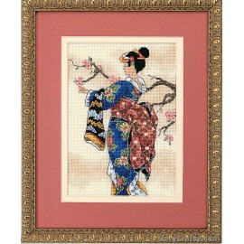 Gold Petite: Mai Counted Cross Stitch Kit by Dimensions