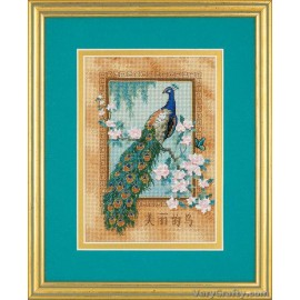 Gold Petite: Beautiful Bird Counted Cross Stitch Kit by Dimensions