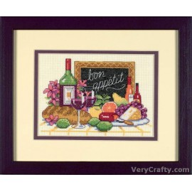 Bon Appetit Mini Counted Cross Stitch Kit by Dimensions