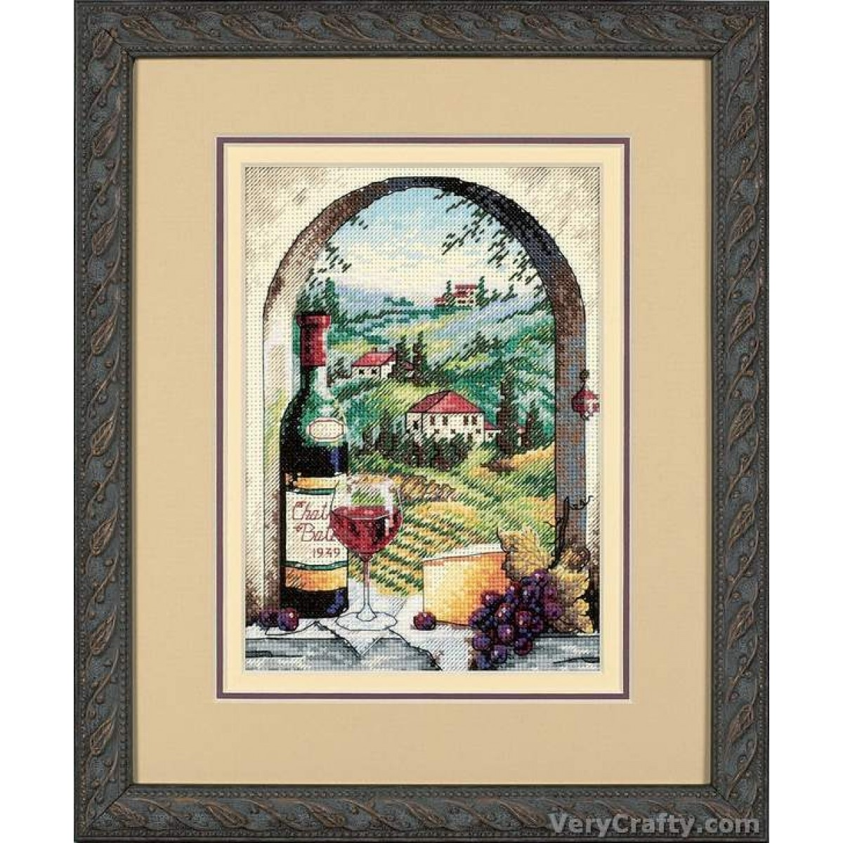 Counted Cross Stitch Kit OVEN Tuscany