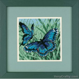 Butterfly Duo Mini Tapestry Kit by Dimensions