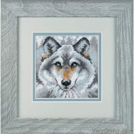 Call of the Wolf Mini Tapestry Kit by Dimensions