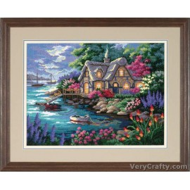 Cottage Cove Tapestry Kit by Dimensions