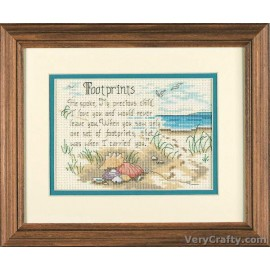 He Spoke Mini Counted Cross Stitch Kit by Dimensions