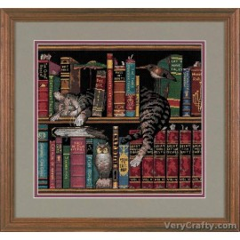 Frederick the Literate Counted Cross Stitch Kit by Dimensions