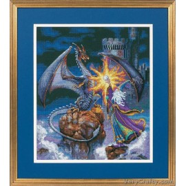 Gold: Magnificent Wizard Counted Cross Stitch Kit by Dimensions