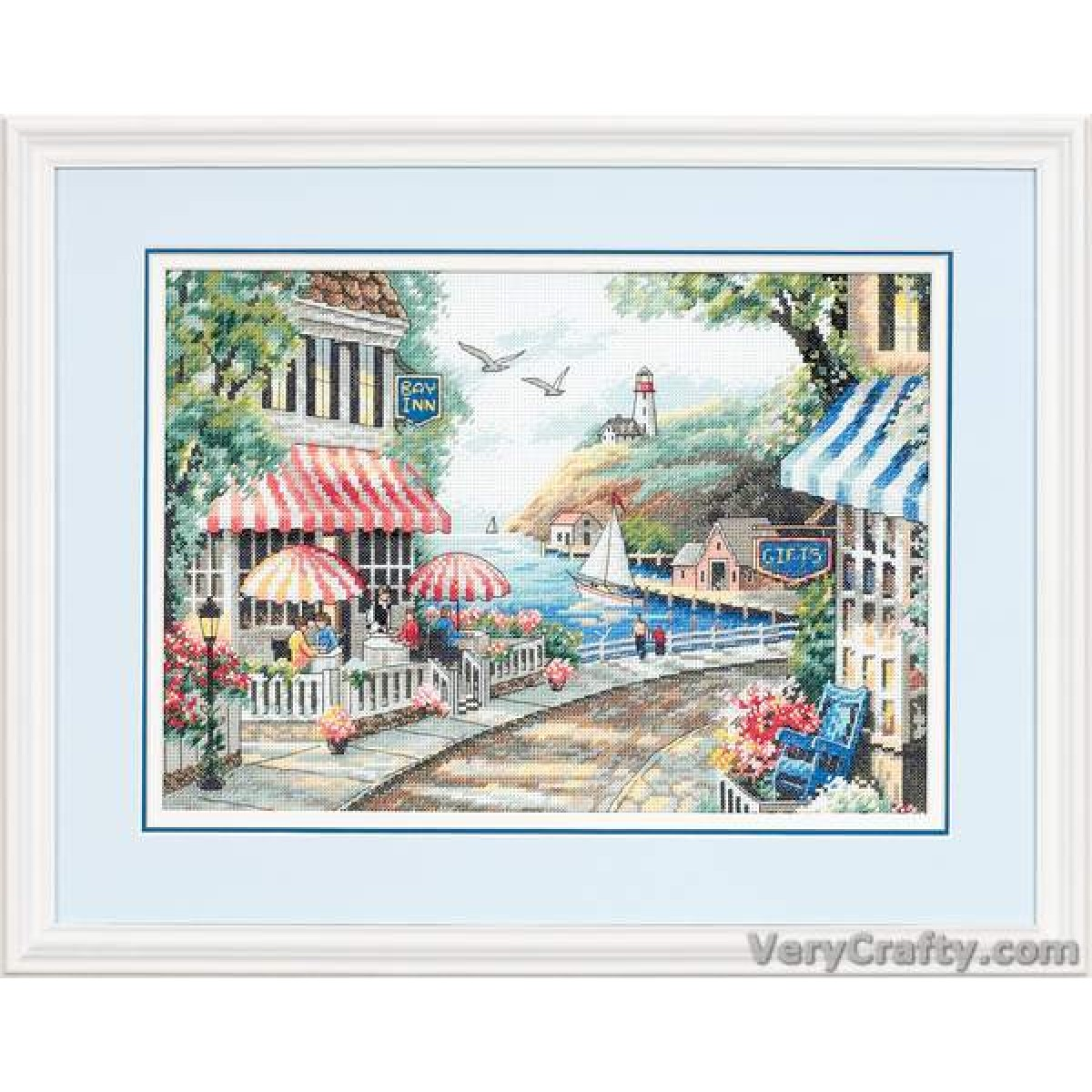 NEW ~ Bothy Threads ~ Counted Cross Stitch Kit ~ Pier Fun ~ XJR32