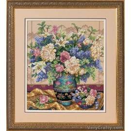 Gold: Oriental Splendor Counted Cross Stitch Kit by Dimensions