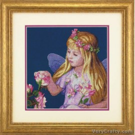 Rose Fairy Counted Cross Stitch Kit by Dimensions