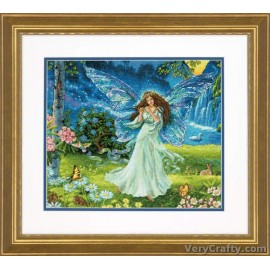 Gold: Spring Fairy Counted Cross Stitch Kit by Dimensions