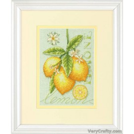 Lemons Mini Counted Cross Stitch Kit by Dimensions