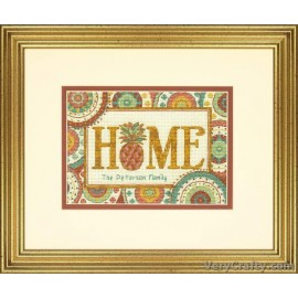Pineapple Home Counted Cross Stitch Kit by Dimensions