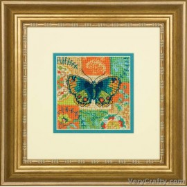 Butterfly Pattern Mini Tapestry Kit by Dimensions