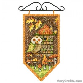 Fall Counted Cross Stitch Kit by Dimensions