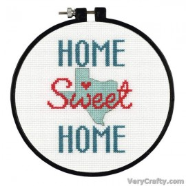 Learn-a-Craft: State Love Counted Cross Stitch Kit with Hoop by Dimensions