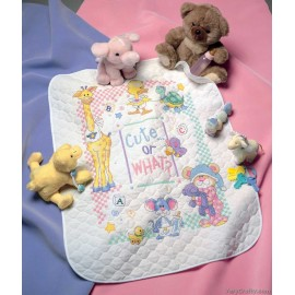 Quilt: Cute Or What? Printed Cross Stitch Kit by Dimensions