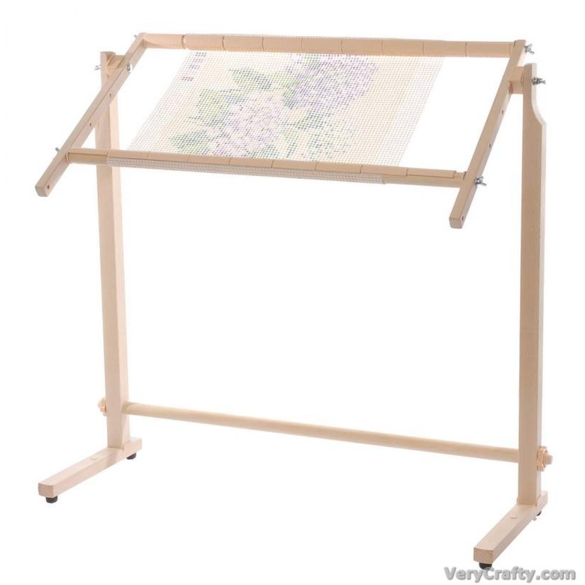 Wood by Elbesee Elbesee Posilock Floor Stand for Embroidery//Quilting Hoops with Rotating Frames Upto 24-Inch