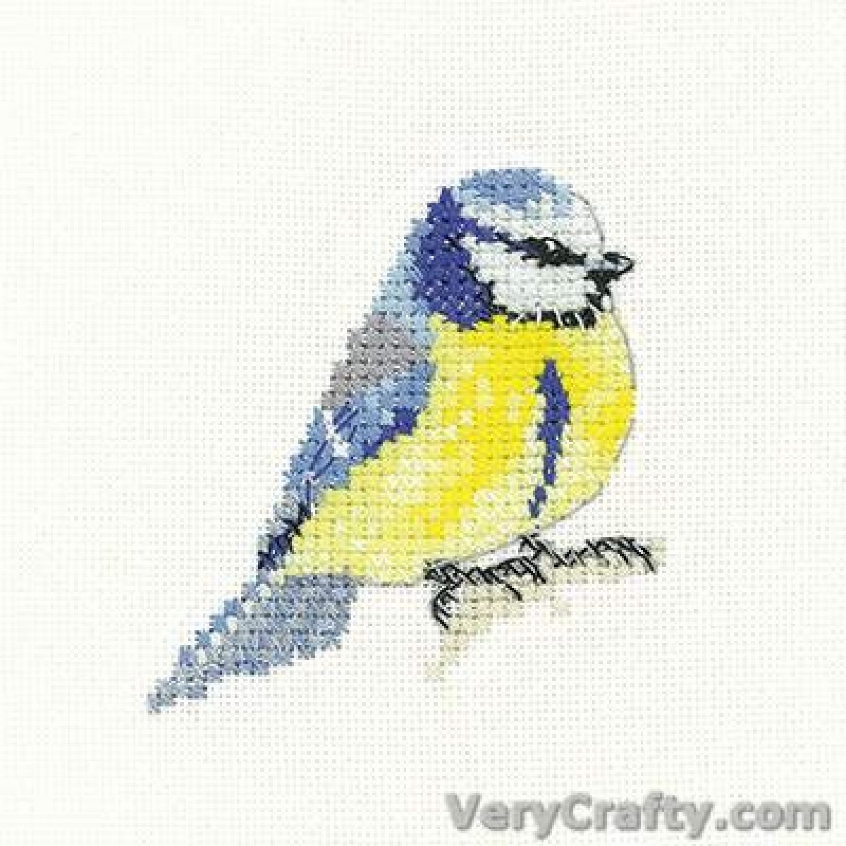 BOTHY THREADS KING OF THE RIVER KINGFISHER Counted Cross Stitch Kit Hannah Dale