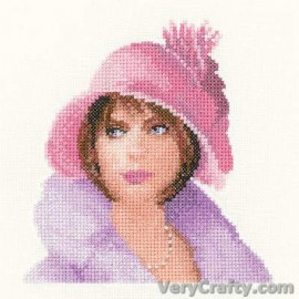 Harriet in Miniature Counted Cross Stitch Kit from Heritage Crafts