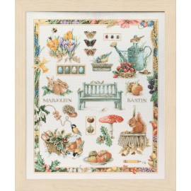 Collage Counted Cross Stitch Kit by Vervaco / Lanarte