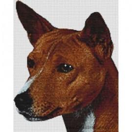 Basenji - Dog Cross Stitch Chart