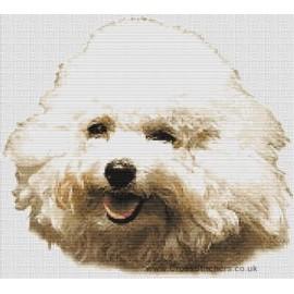 Bichon Frise - Dog Cross Stitch Chart