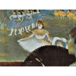 Degas - Dancer with Bouquet Cross Stitch Chart by Email