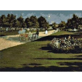 Chase - Prospect Park Cross Stitch Chart by Email