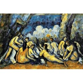 Cezanne - Les Grandes Baigneuses Cross Stitch Chart by Email