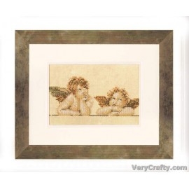 Raphael Characters Counted Cross Stitch Kit by Vervaco / Lanarte