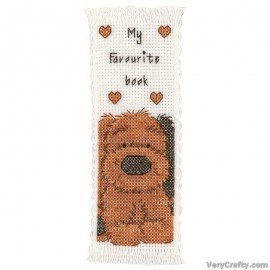 BOOKMARK BISCUIT COUNTED CROSS STITCH KIT BY Vervaco / Lanarte