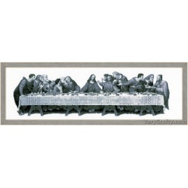 The Last Supper Counted Cross Stitch Kit by Vervaco