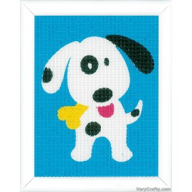 Cute DogTapestry Kit by Vervaco / Lanarte