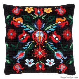 Cushion: Folklore IIITapestry Kit by Vervaco / Lanarte