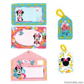 Cards: Disney: Minnie - Daydreaming: Set of 5  Embroidery Kit by Vervaco / Lanarte
