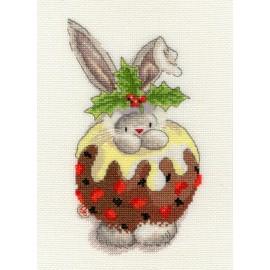 Bebunni - Christmas Pudding- Cross Stitch Kit from Bothy Threads
