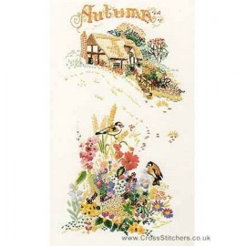 Autumn Embroidery Kit from Design Perfection