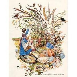 Blackberrying Embroidery Kit from Design Perfection