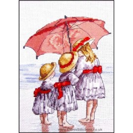 3 Girls - All Our Yesterdays Cross Stitch Kit