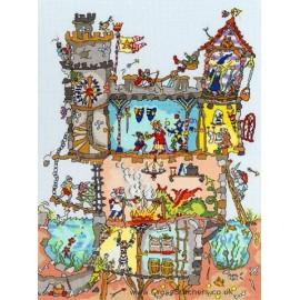 Cut Thru' Castle - Bothy Threads Cross Stitch Kit